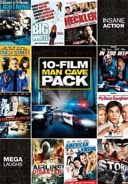 10-Movie Man Cave Pack 4