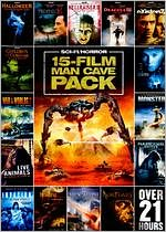 15-Film Man Cave Pack: Sci-Fi Horror, Vol. 1