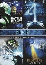 Sci-Fi Collector's Set: Riddler's Moon/Battle Planet/30 Years to Life/Survivor