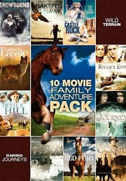 10-Film Family Adventure Pack (2pc) / (Full Ws)