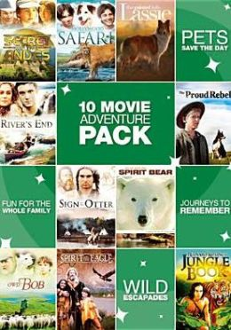 10-Movie Family Adventure Pack, Vol. 1