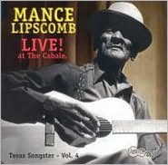 Texas Songster, Vol. 4:  Live! At the Cabale