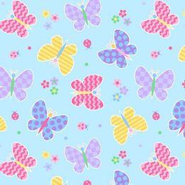 Wildkin 17113 Olive Kids Butterfly Garden Sleeping Bag