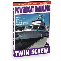 BENNETT MARINE VIDEO DVD - Powerboat Handling: Twin Screw