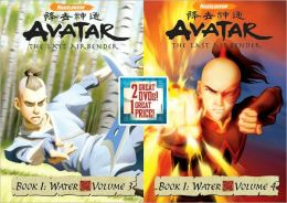 Avatar, the Last Airbender - Book 1: Water, Volumes 3 & 4