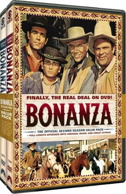 Bonanza: the Official Second Season, Vols. 1 & 2
