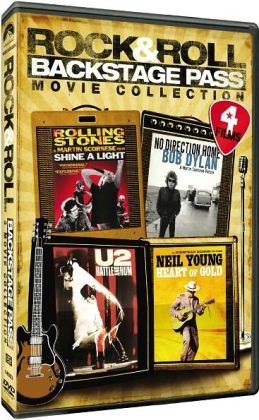 Rock & Roll Backstage Pass Movie Collection