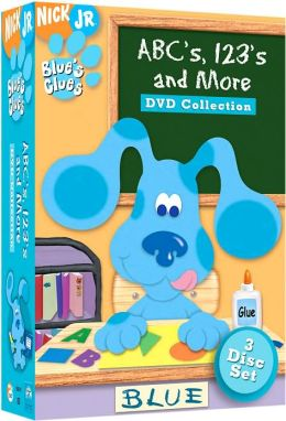 Blue's Clues: Abc's 123's & More Dvd Collection