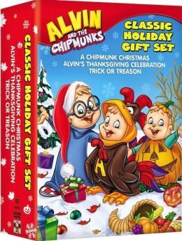 Alvin and the Chipmunks - Classic Holiday Gift Set