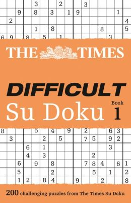 The Times Su Doku - Difficult