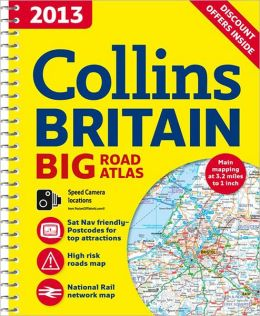 2013 Collins Britain Big Road Atlas