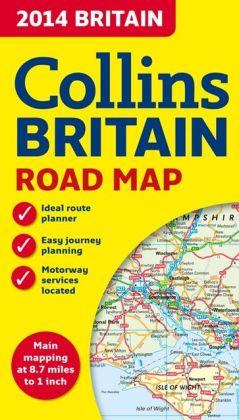 Collins 2014 Britain Road Map