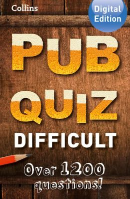 Collins Pub Quiz (Difficult)
