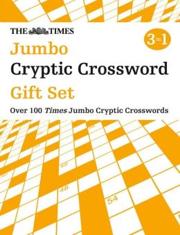 The Times Jumbo Cryptic Crossword Gift Set