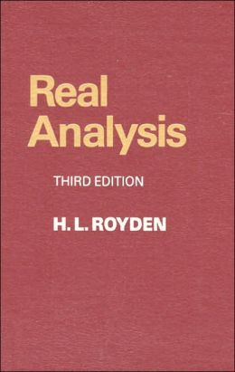 Real Analysis