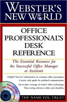 Webster's New World Office Professional's Desk Reference