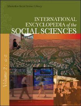 International Encyclopedia of the Social Sciences (9 Volume Set)