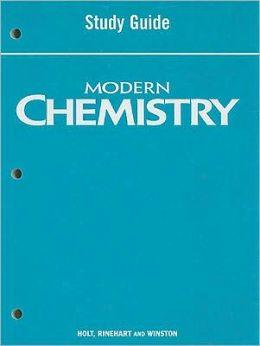 Modern Chemistry: Study Guide
