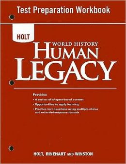 World History: Human Legacy: Test Preparation Workbook