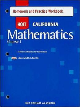 Holt homework help math