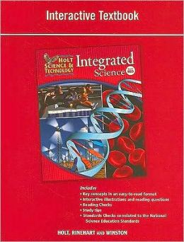 Holt Science & Technology: Interactive Textbook Level Red Integrated Science