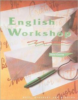 HRW English Workshop: Student Edition Grade 9