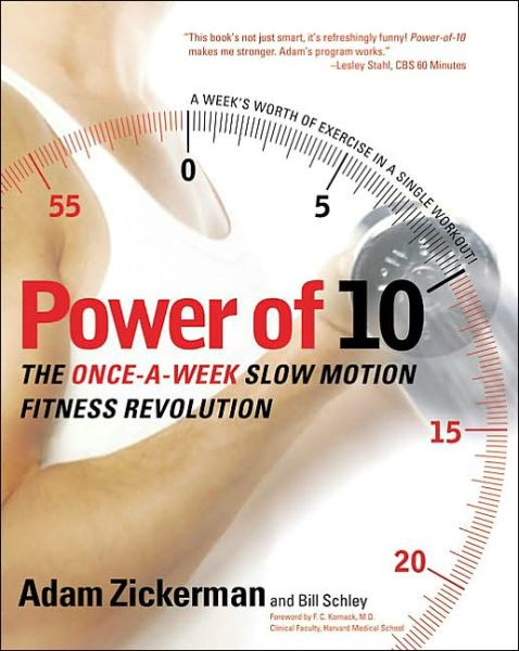 Free ebook downloads for kindle pc Power of 10: The Once-A-Week Slow Motion Fitness Revolution 9780060008895