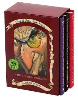 A Box of Unfortunate Events: The Situation Worsens, Books 4-6