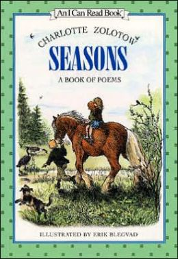 Seasons: A Book of Poems (I Can Read Book Series)