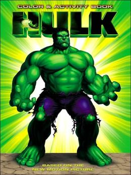 Hulk Color and Activity Book
