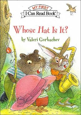 Whose Hat Is It? (My First I Can Read Series)