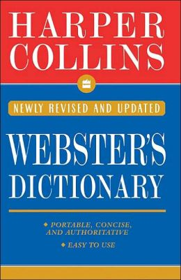 HarperCollins Pocket Webster's Dictionary; Newly Revised and Updated