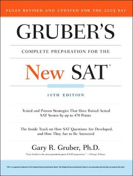 Gruber's Complete Preparation for the New SAT, 10th Edition