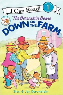 The Berenstain Bears Down on the Farm (I Can Read Book 1 Series)