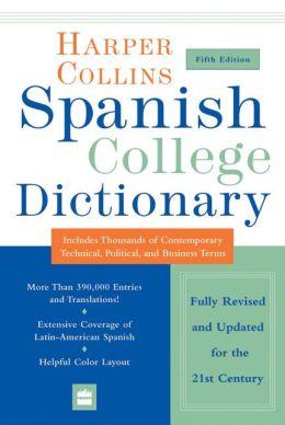 HarperCollins Spanish College Dictionary 5th Edition