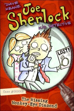 The Missing Monkey-Eye Diamond (Joe Sherlock, Kid Detective Series #3)