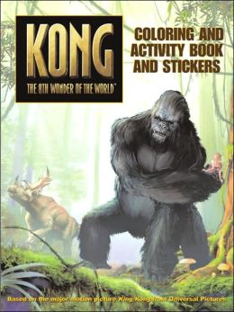 King Kong: Coloring and Activity Book Paint Box