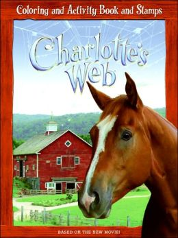 Charlotte's Web Coloring and Activity Book and Stamps
