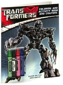 Transformers: Coloring and Activity Book and Crayons