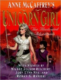 The Unicorn Girl: An Illustrated Novel (Acorna Series)