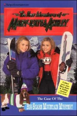 Case of the Big Scare Mountain Mystery with Cards (New Adventures of Mary Kate and Ashley Series #14)