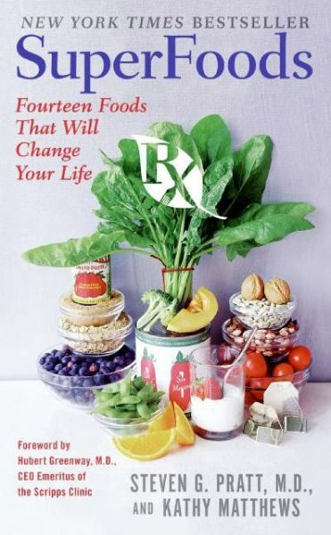 Books pdf file download SuperFoods Rx: Fourteen Foods That Will Change Your Life PDB MOBI iBook 9780061172281
