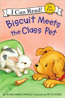 Biscuit Meets the Class Pet (My First I Can Read Series)