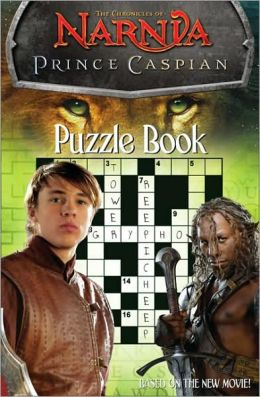 Chronicles of Narnia: Prince Caspian Puzzle Book
