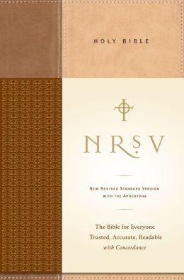 NRSV Standard Bible with Apocrypha (Tan/Brown)