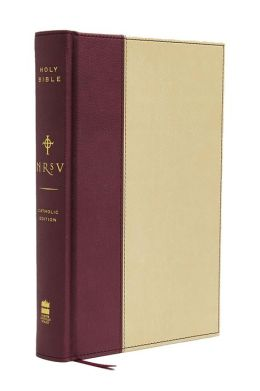 NRSV Standard Catholic Edition Bible, Anglicized (Tan/Red)