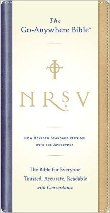 NRSV Go-Anywhere Bible with Apocrypha (Tan/Blue Nutone)