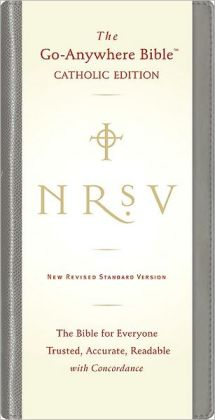NRSV Go-Anywhere Bible, Catholic Edition: New Revised Standard Version, Black
