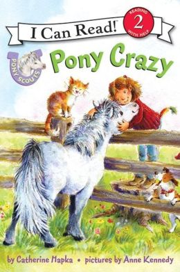 Pony Crazy (I Can Read Series Level 2)