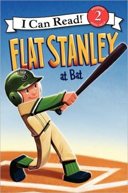 Flat Stanley at Bat (I Can Read Book 2 Series)